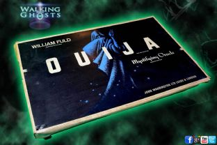 Ouija Board Rare1960s Williams Fuld' John Waddington UK Vintage Oracle Game V07